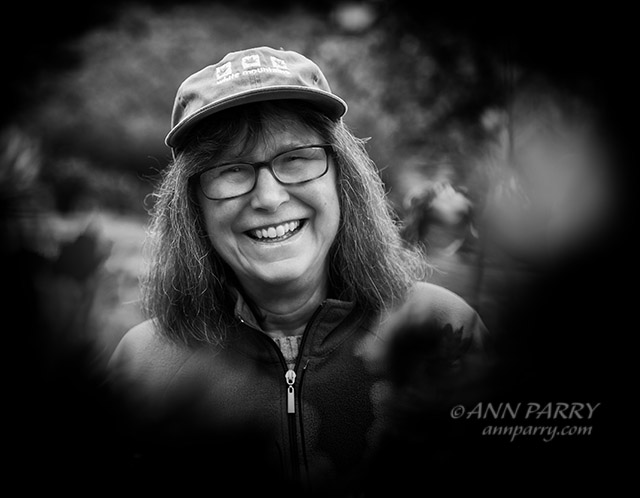 New Paltz, New York, October 16, 2019. Childhood friends Judy Kennedy, who's a singer and banjo player, and the photographer visit historic Mohonk Mountain House, on Lake Mohonk.